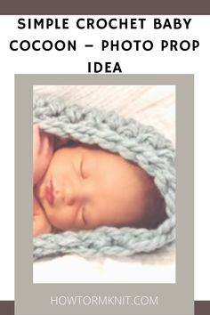 Come see these amazing Simple Crochet Baby Cocoon – Photo Prop Idea This article has some great ideas for these simple crochet baby cocoon! Please come check it out today. #Simplecrochetbabycocoon #Babycocoon #Photopropideas #Crochetbaby Simple Crochet, Free Crochet, Crochet Photo Props, Crochet Baby Cocoon, Afghan Blanket, Learn To Crochet, Stitch Markers, Crochet Patterns, Amazing