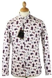 Ken MERC Retro Mod Bold Paisley Short Collar Shirt