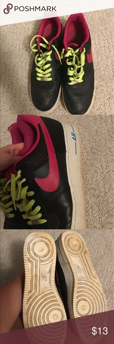Nike Air Force 1's Very little wear. Treads and logos are still perfectly in tact. 2012 (I think) and part of a 3 pair set (London, Barcelona, and Washington). Possibly associated with the World Basketball Classic. Some are being sold on here for up to 300, a great deal! Nike Shoes Sneakers