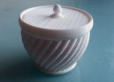 Jar with lid by Zebra404.