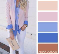 Color-Block Fashion by Alena Gordon | VK