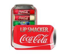 $12 for a Set of Six Lip Smacker Lip Balms in a Coca Cola Tin