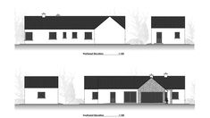 Traditional Large Style Bungalow providing our client with large living spaces, maximizing comfort and practicality. Bungalow Floor Plans, Bungalow Renovation, Farmhouse Renovation, Bungalow House Design, House Designs Ireland, Old School House, Living Spaces, Traditional, Outdoor Decor