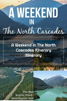 North Cascades Guide and Itinerary | North Cascades National Park | Things to do North Cascades | North Cascades Hikes | Where to stay North Cascades #NorthCascades Cascade National Park, North Cascades National Park, National Parks, Things To Do, Hiking, Todo List, State Parks, Trekking