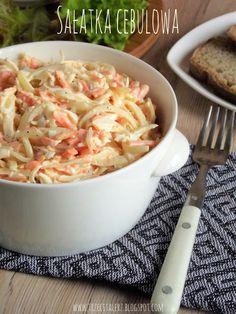 Polish Recipes, Polish Food, Feta Salat, Cebu, Mashed Potatoes, Macaroni And Cheese, Salads, Food And Drink, Cooking Recipes