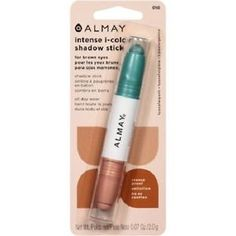 Almay-Intense-i-color-Shadow-Stick-for-Brown-Eyes-Crayon-Matte-Green-Nude-New