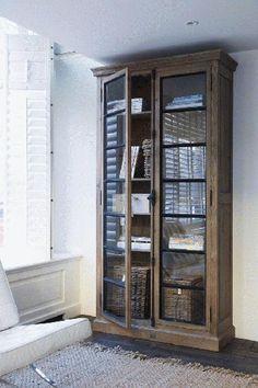 Corner bookcase.  Absolutely LOVE, LOVE, LOVE!