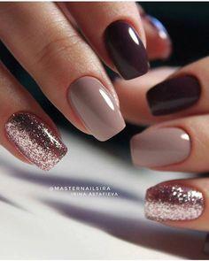 59 Beautiful Nail Art Design To Try This Season - long coffin nails glitter nails mixmatched nail art nail colors marble nail art nail polis nude nails Nail Color Combos, Cute Nail Colors, Fall Nail Colors, Winter Colors, Bright Colors, Color Combinations, Cute Acrylic Nails, Cute Nails, My Nails