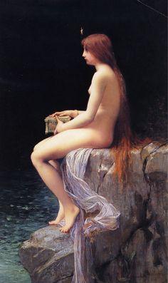 Pandora : Jules Joseph Lefebvre : Art Scans : Scanopia