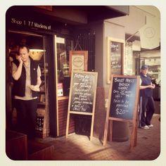 Bottega Del Vino Potts Point Sydney Chalkboard Quotes, Sydney, Wine