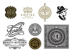 In this post, you will find 40 well designed monogram designs. These examples will inspire you to get one for your company or yourself.