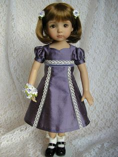 Dianna Effner doll with dress by Tomi Jane, via Flickr