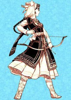 Manga in slavic clothing