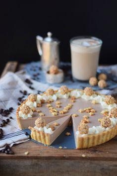 Nougat Baileys Tarte und ein Baileys Latte | Das Knusperstübchen