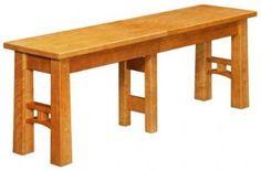 West Point Woodworking | Bridgeport Bench