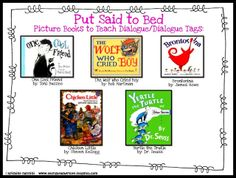 Great mentor texts to teach dialogue! Plus tons of dialogue freebies, including punctuating dialogue!