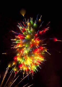 Fireworks surreal | David Johnson