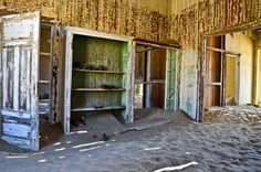 23: Namibia trip: desert sand taking over abandoned house in... - marco_vdw