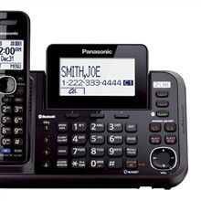 Panasonic 2 Handsets Cordless Phones panasonic kx tg9542b