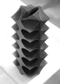 Image 13 of 17 from gallery of Harvard's Material Processes and Systems Group Investigates Structural Ceramics. Courtesy of The Material Processes and Systems Group, Harvard University Graduate School of Design Futuristic Architecture, Architecture Design, Arch Model, Digital Fabrication, Parametric Design, Shape And Form, Construction, Entryway Decor, 3d Printing