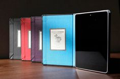 So you've spent your hard earned cash on a Nexus 7 or 10 and are looking for a case that will help protect them, while also making the tablet still look elegant. As with all tablets there are a great choice available, but we feel that the Nexus 7 and 10 handmade cases from DODOcase are particularly nice because of the attention to detail.