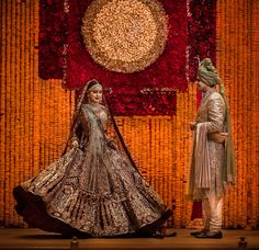 Every Indian Bride has her own designer wedding lehenga dreams. We have picked our favourite stunning bridal lehenga colors that are not red Indian Bridal Photos, Indian Bridal Outfits, Indian Bridal Wear, Pakistani Bridal, Indian Dresses, Indian Wear, Bollywood Bridal, Bollywood Lehenga, Indian Attire