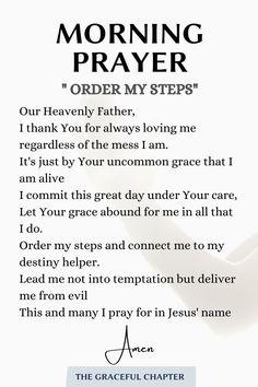 Daily Morning Prayer, Powerful Morning Prayer, Morning Prayer Quotes, Morning Prayers, Prayer Scriptures, Bible Prayers, Faith Prayer, Daily Devotional Prayer, Short Prayers