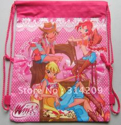 Winx backpack for party favor bags