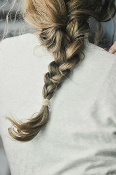 braid, for when I grow my hair out