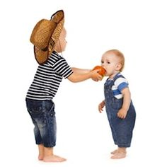 From siblings to best friends, children have a difficult time learning to share. It is a concept that may not fully develop until late into grade school, if then.