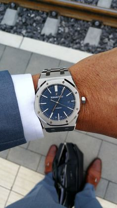 The vast bulk of watches, especially those for men, are just plain dull. Simply another thing to make you mix into the very same … Audemars Piguet Diver, Audemars Piguet Watches, Audemars Piguet Royal Oak, Men's Watches, Sport Watches, Cool Watches, Ap Royal Oak, Skeleton Watches, Luxury Watches For Men