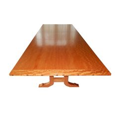 David N Ebner Makore Wood Dining Room Table or Conference Table, 2006 at 1stdibs