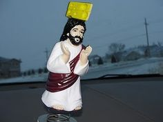 Cheesehead Dashboard Jesus