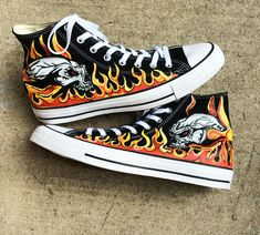 Practical The Nightmare Before Christmas Styles Canvas Shoes Special Luminous Skull Jack Hand Painted Shoes Black High Top Men Sneakers Without Return Shoes Men's Shoes