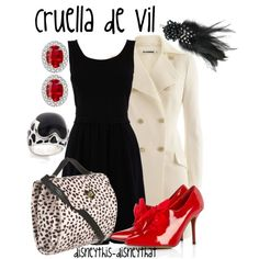 cruella de vil - already have everything for this one, good winter disney outfit.