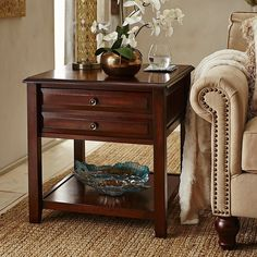 Anywhere Large End Table - Tuscan Brown | Pier 1 Imports