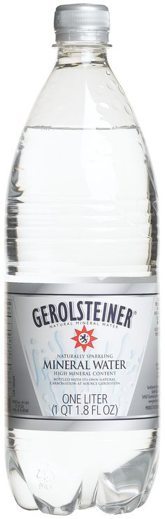 #Contest Can be found in Publix. Gerolsteiner Mineral Water, 750ML Glass Bottles (Pack of 12). Contains Minerals, especially Magnesium