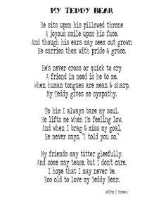 paddington bear poem # 7