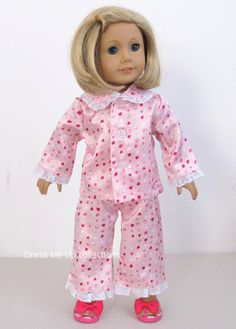 American Girl Doll Clothes 2pc Lovely Pink with by dmucollections
