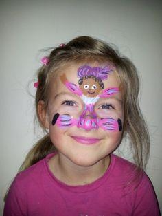 Zwarte Piet schminken