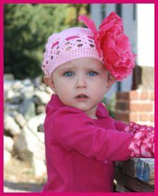 Christian Clothing | Faith Baby | Amanda Faith Crochet Beanie by Faith Baby  FaithBaby.com