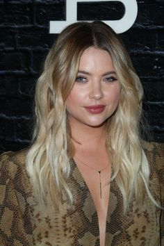 Ashley Benson's close-up at the Privé Revaux Eyewear Launch in Hollywood
