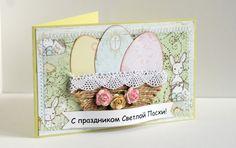 my scrapoblog: Пасхальная открытка