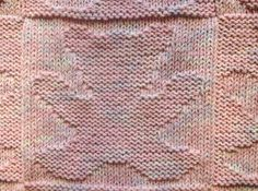 Teddy Bear Baby Blanket Knitting Pattern