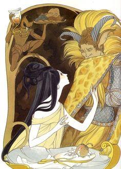 Hilary Knight - Beauty and the Beast (?)