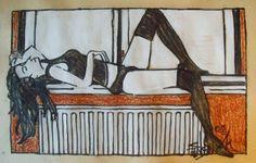 ARTFINDER: WINDOW SILL by Susanne Jensen - Drawing