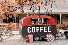 A coffee Van, South Island New Zealand