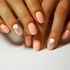 10 Easy Nail Designs for Short Nails | trends4everyone Nail Design, Nail Art, Nail Salon, Irvine, Newport Beach