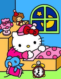6ec9fe566 Good Night Kitties (Coloring Book) by Kittykun123.deviantart.com on @ DeviantArt. Lisa · Hello Kitty