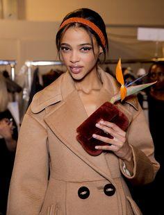 Fendi Fall 2015 RTW Backstage – Vogue